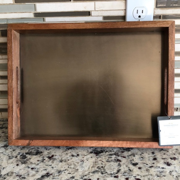 Threshold Handcrafted All Purpose Serving Tray